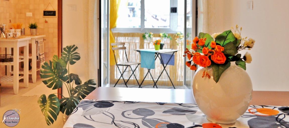 Home Staging dettaglio tavolo