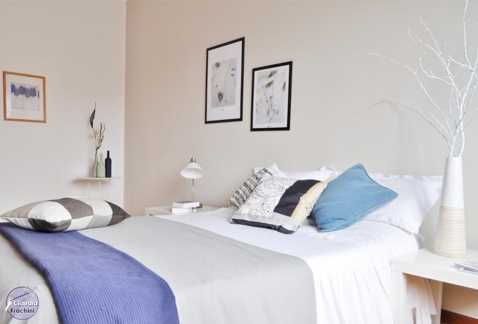 home staging Particolare letto