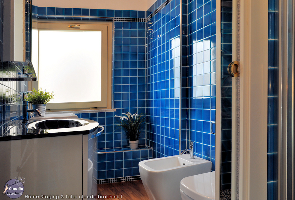 home staging bagno casa vacanze