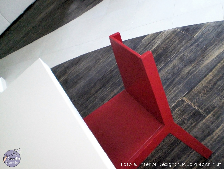sedia rossa
