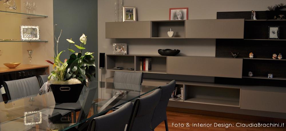 tavolo e sedie Cattelan, parete Modulnova